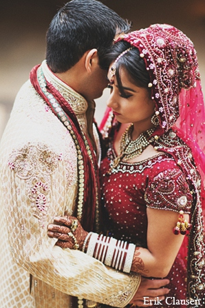 Indian wedding photography bride groom in Dallas, Texas Indian Wedding by Erik Clausen