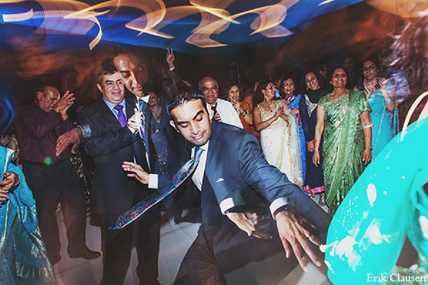 Indian wedding reception groom photography in Dallas, Texas Indian Wedding by Erik Clausen