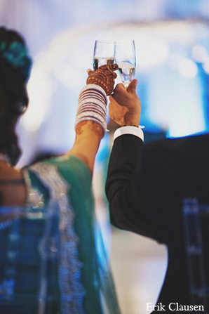 Indian wedding reception photography in Dallas, Texas Indian Wedding by Erik Clausen