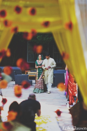 Indian wedding ceremony bride groom mandap in Westlake, Texas Indian Wedding by Erik Clausen Photography