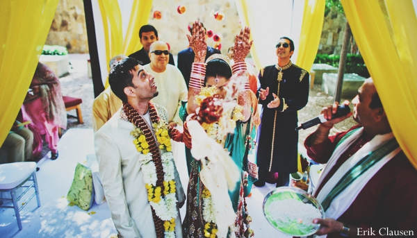 Indian wedding ceremony traditional customs in Westlake, Texas Indian Wedding by Erik Clausen Photography