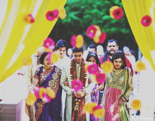 Indian wedding ceremony traditional in Westlake, Texas Indian Wedding by Erik Clausen Photography