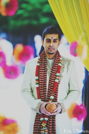 Indian wedding groom sherwani ceremony in Westlake, Texas Indian Wedding by Erik Clausen Photography