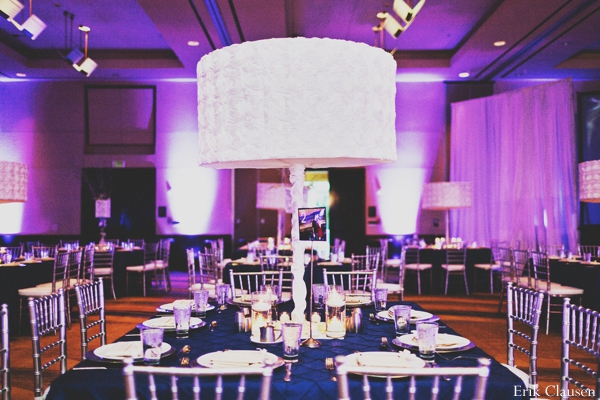 Indian wedding lighting venue reception in Westlake, Texas Indian Wedding by Erik Clausen Photography