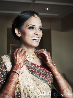 Indian wedding bridal lengha jewelry in Picturesque Indian Wedding + Garba by Erin Shimazu Photography, San Diego, California