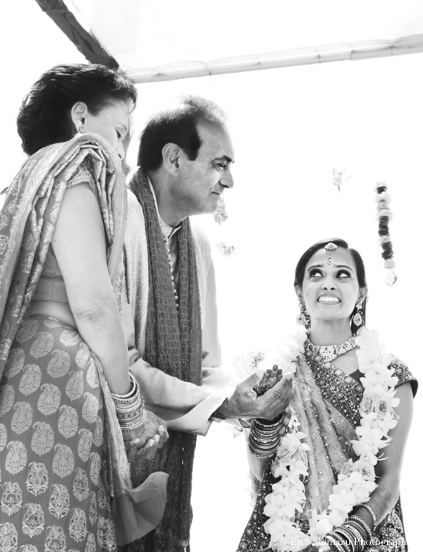 Indian-wedding-bride-ceremony-black-and-white_0 in Picturesque Indian Wedding + Garba by Erin Shimazu Photography, San Diego, California