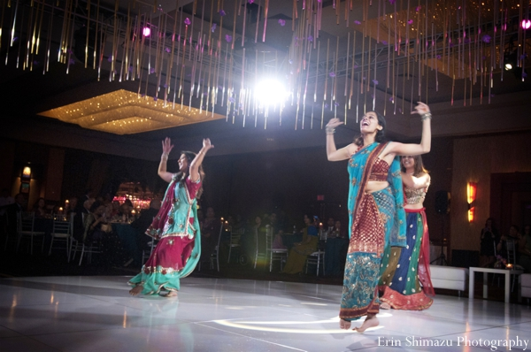 indian wedding dance,reception entertainment,bollywood dancers,Erin Shimazu Photography