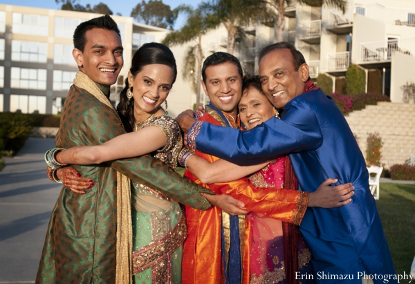 Indian wedding garba celebration in Picturesque Indian Wedding + Garba by Erin Shimazu Photography, San Diego, California