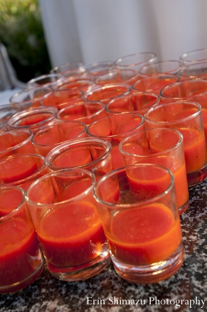 red,Catering,indian wedding garba,drinks at wedding garba,inspiration for wedding garba,Erin Shimazu Photography