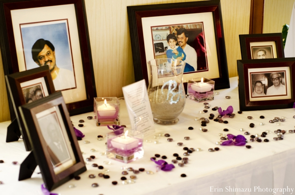 Indian wedding reception decor in Picturesque Indian Wedding + Garba by Erin Shimazu Photography, San Diego, California