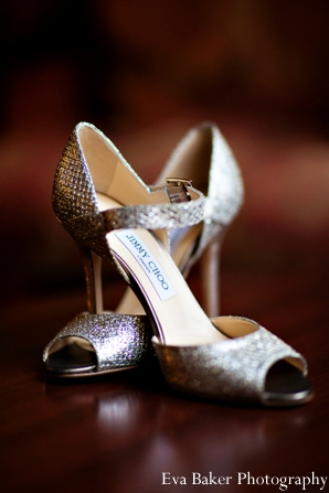 Indian-wedding-bride-detail-shoes-silver