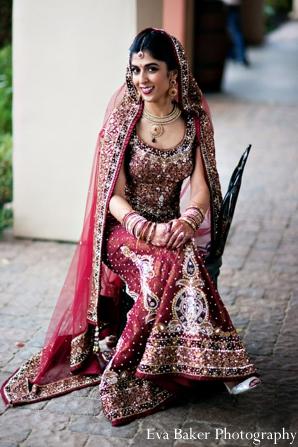 Indian-wedding-bride-portrait-lengha-traditional