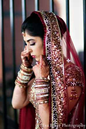 Indian-wedding-bride-portrait-modern-traditional