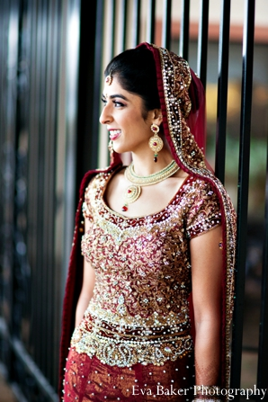 Indian-wedding-bride-portrait-profile