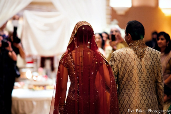 Indian-wedding-ceremony-bride-entrance-decor