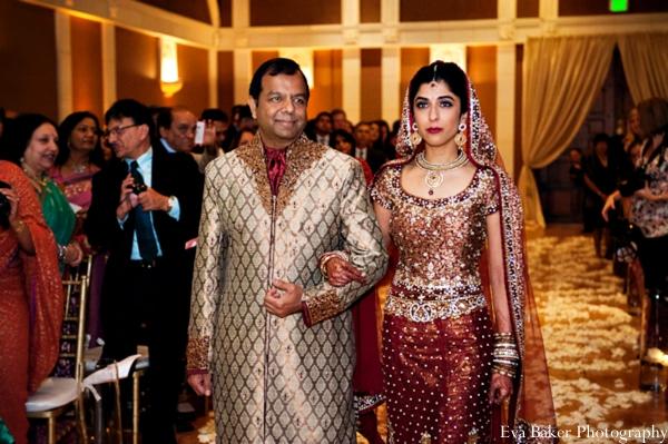 Indian-wedding-ceremony-bride-entrance-traditional