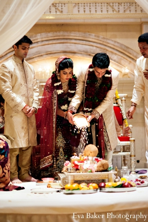 Indian-wedding-ceremony-bride-groom-mandap-customs