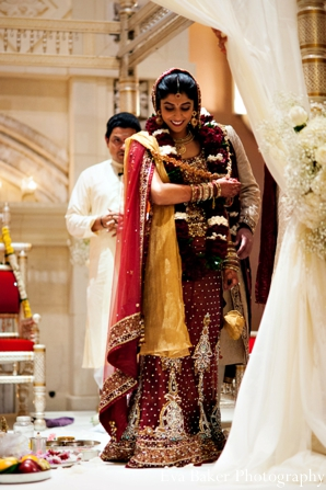 Indian-wedding-ceremony-bride-mandap
