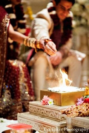 Indian-wedding-ceremony-detail-bride-groom