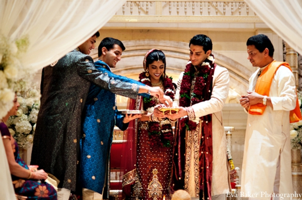 Indian-wedding-ceremony-groom-bride-mandap-customs