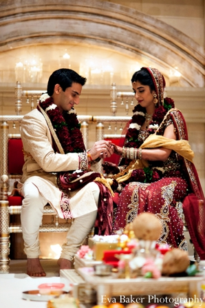 Indian-wedding-ceremony-groom-bride