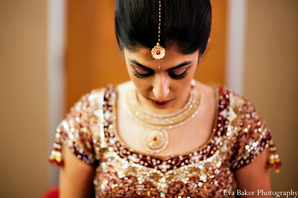 Indian-wedding-getting-ready-bride-jewelry-tikka