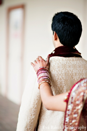 Indian-wedding-portrait-bride-groom-bangles
