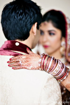 Indian-wedding-portrait-bride-groom-detail