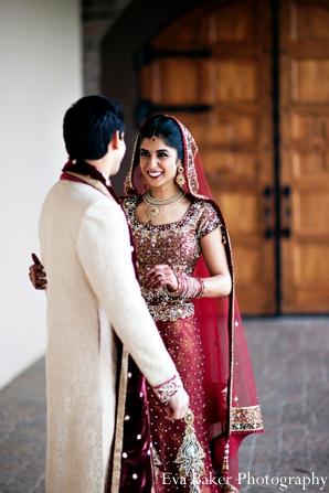 Indian-wedding-portrait-bride-groom-embrace
