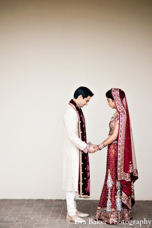 Indian-wedding-portrait-bride-groom-profile
