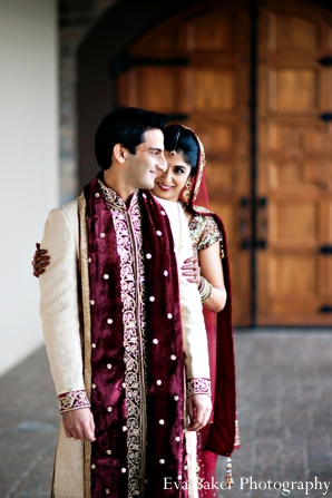 Indian-wedding-portrait-bride-groom-traditional