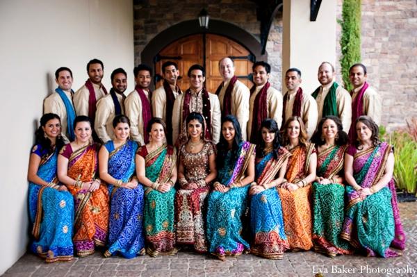 Indian-wedding-portrait-wedding-party