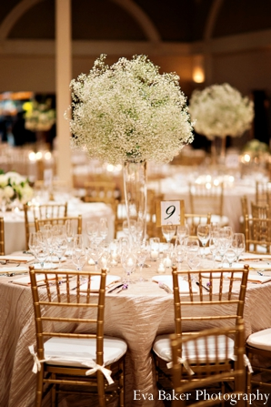 Indian Wedding Reception Floral Decor