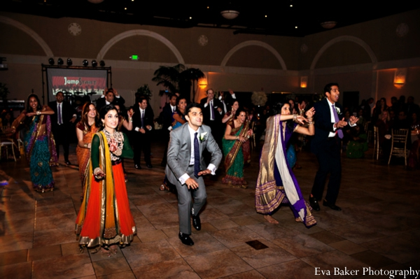 Indian-wedding-reception-party-dancing