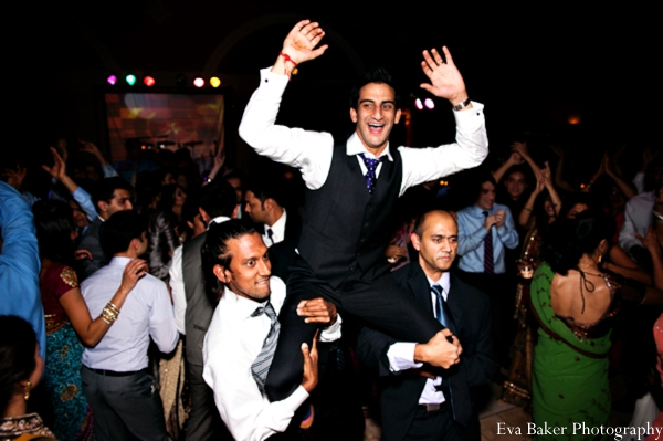 Indian-wedding-reception-party-groom
