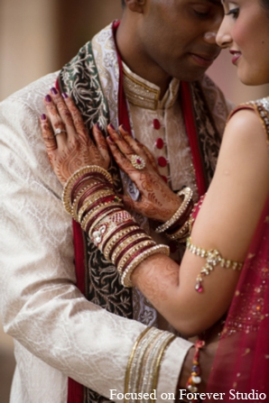 Indian wedding bride groom photo ideas in Boca Raton, Florida Indian Wedding by Focused on Forever Studio