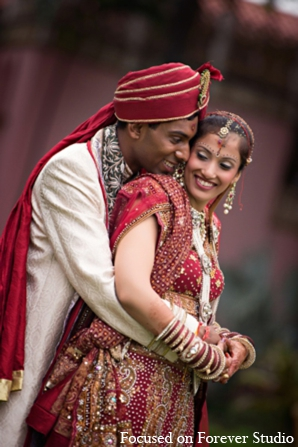 red,gold,cream,white,portraits,indian bride and groom,indian bride groom,photos of brides and grooms,images of brides and grooms,indian bride grooms,Focused On Forever Studio