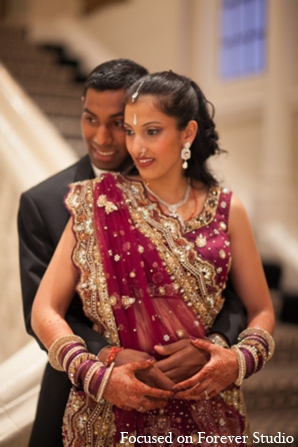 Indian wedding bride groom tradition in Boca Raton, Florida Indian Wedding by Focused on Forever Studio