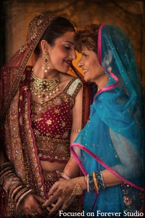 Indian wedding bride mother outfits in Boca Raton, Florida Indian Wedding by Focused on Forever Studio