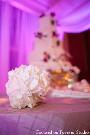 Indian wedding decor detail in Boca Raton, Florida Indian Wedding by Focused on Forever Studio