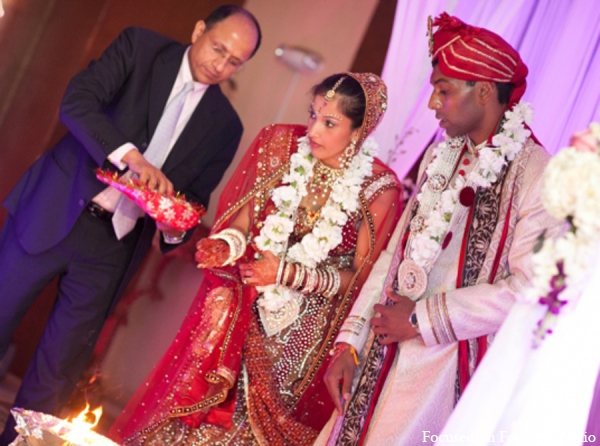 Indian wedding traditional ceremony in Boca Raton, Florida Indian Wedding by Focused on Forever Studio