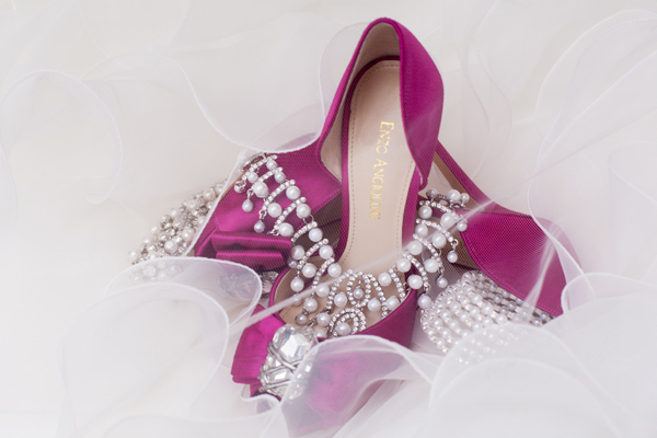 Indian wedding bridal jewelry shoes in Orlando, Florida Fusion Wedding by Garrett Frandsen