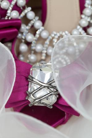 Indian wedding bride fashion shoes in Orlando, Florida Fusion Wedding by Garrett Frandsen