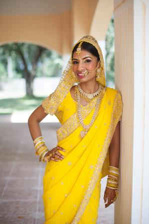 Indian wedding bride sangeet in Orlando, Florida Fusion Wedding by Garrett Frandsen