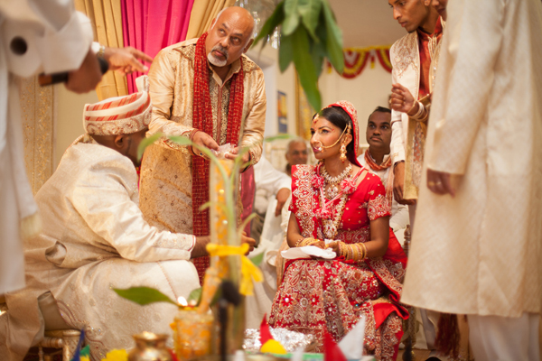 Indian wedding ceremony customs in Orlando, Florida Fusion Wedding by Garrett Frandsen