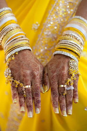 Indian wedding jewelry sangeet in Orlando, Florida Fusion Wedding by Garrett Frandsen