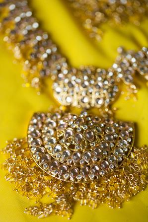 Indian wedding sangeet jewelry in Orlando, Florida Fusion Wedding by Garrett Frandsen