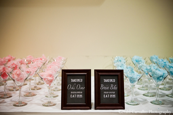 Indian wedding reception sweets icecream in San Mateo, California Indian Wedding by Gerald Carvalho Photography