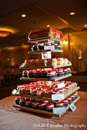 Indian wedding reception dessert inspiration in San Mateo, California Indian Wedding by Gerald Carvalho Photography