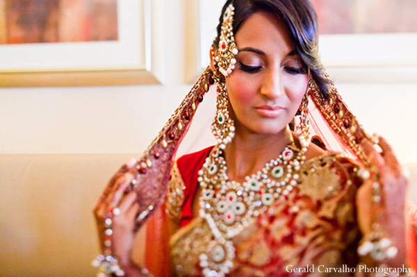 gold indian wedding jewelry,indian bridal fashions,indian bridal hair and makeup,indian wedding jewelry,indian bride,indian wedding lengha,indian wedding henna,indian wedding portrait,indian wedding dress,indian wedding inspiration,gerald carvalho photography,traditional indian wedding dress